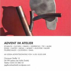Einladung: Advent im Atelier